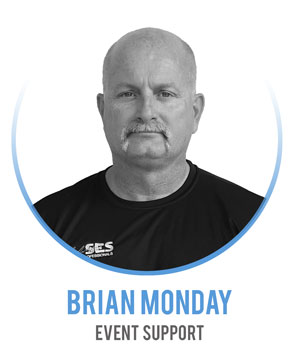 Brian Monday - Event Support
