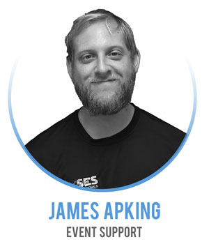 James Apking - Event Support