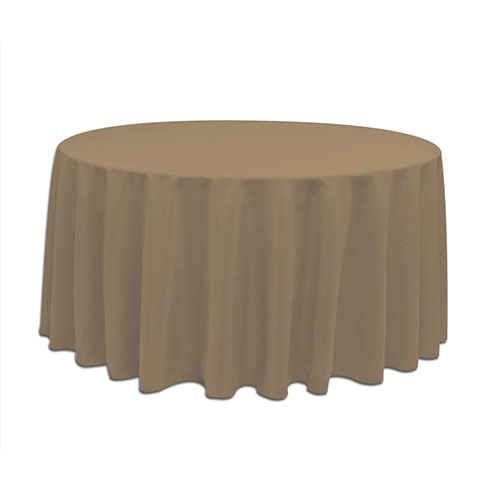 Tablecloth 120 round 120 inch round polyester toast for 120 inch round table cloths