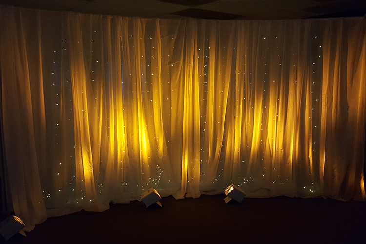 Weddings Pipe Amp Drape Backdrop W Light Curtain 12 Curved