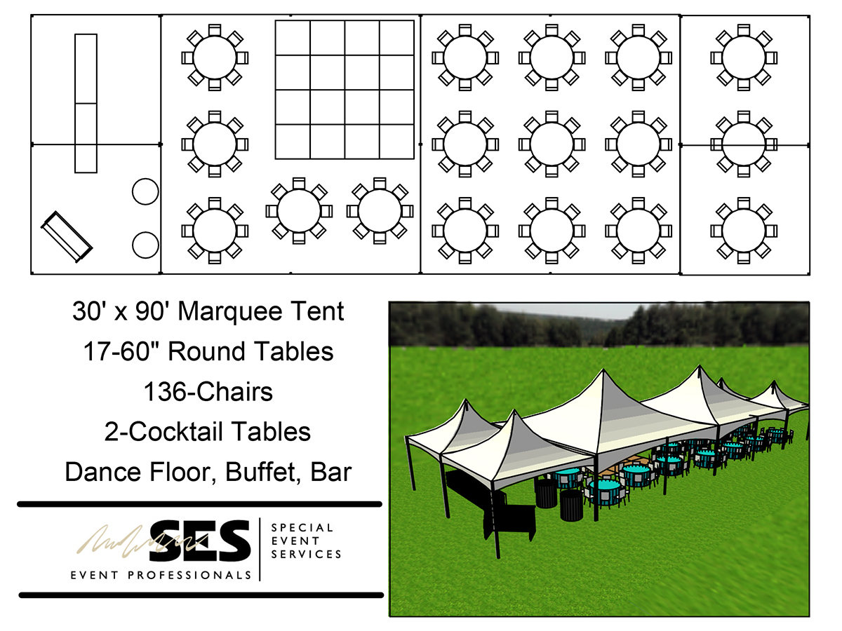 Tents Marquee Tent 30 X 90