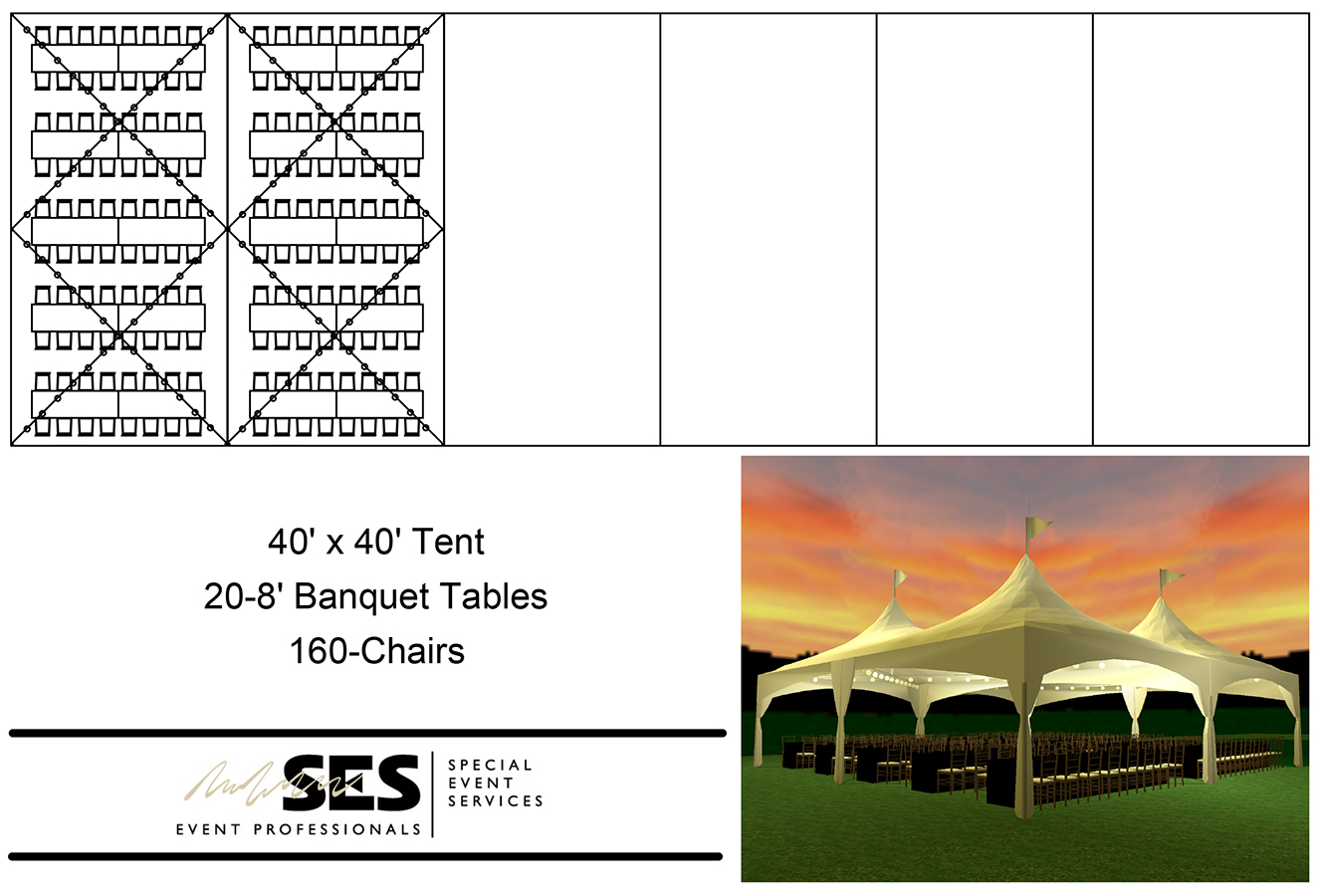 Tents Marquee Tent 40 X 40