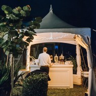 White Bar & 10' x 10' Marquee Tent