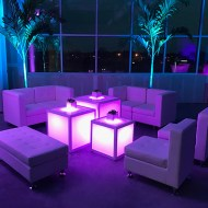 Event Furniture with Uplighting