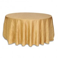 Linens/120Round/linRound_Crinkle_Gold_w