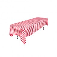 Linens/60Rectangle/linTablecloth60x126_8ft_RedWhiteCheckered_w