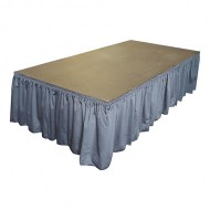 Versalite Stage with Skirting