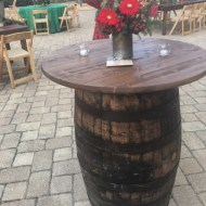 Table: Whiskey Barrel 36