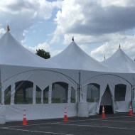 Tent Wall: Window 20' & Door 20'