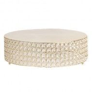 Weddings/CakeStand_RoundCrystalGold_w