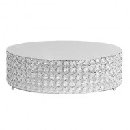 Weddings/CakeStand_RoundCrystalSilver_w